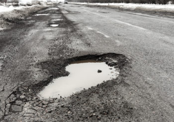 Use These Tips to Help Prevent Costly Pothole Damage