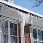 house gutter ice dam